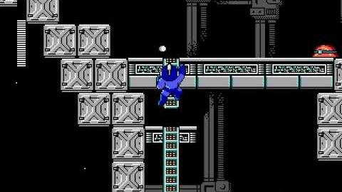 Mega Man 3 PC DOS Stage 7 - Dr. Wily's Castle