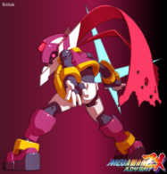 Megaman ZX Advent Model P by Wolblade
