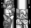 Mega Man vs el Dr. Wily (Mega Man IV).