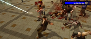 Dead rising laser sword killing zombies (16)