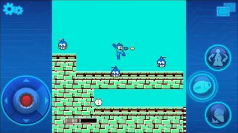Demostración de Mega Man 1 Mobile.