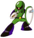 Sniper Joe en Mega Man: Dr. Wily's Revenge