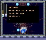 Últimas palabras de Sigma durante la destrucción de su computadora principal.