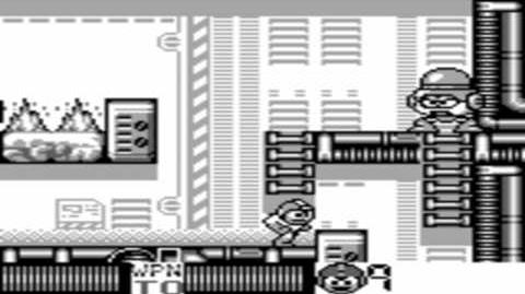 Mega Man 4 (GB) - Napalm Man