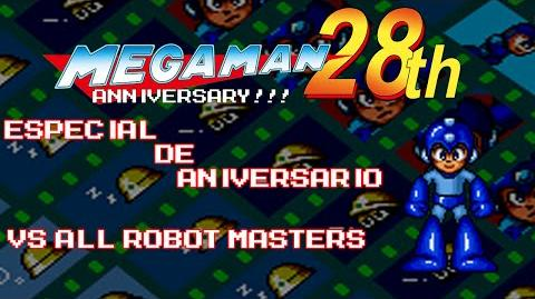 Mega Man The Wily Wars - Especial de Aniversario 28th (Vs All Robot Masters)