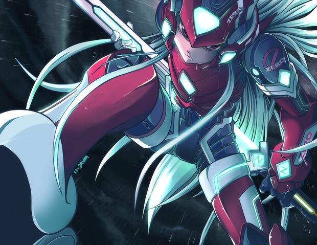 Archivo:Mega man zero mythos by suzuran-d4c1y9h.jpg