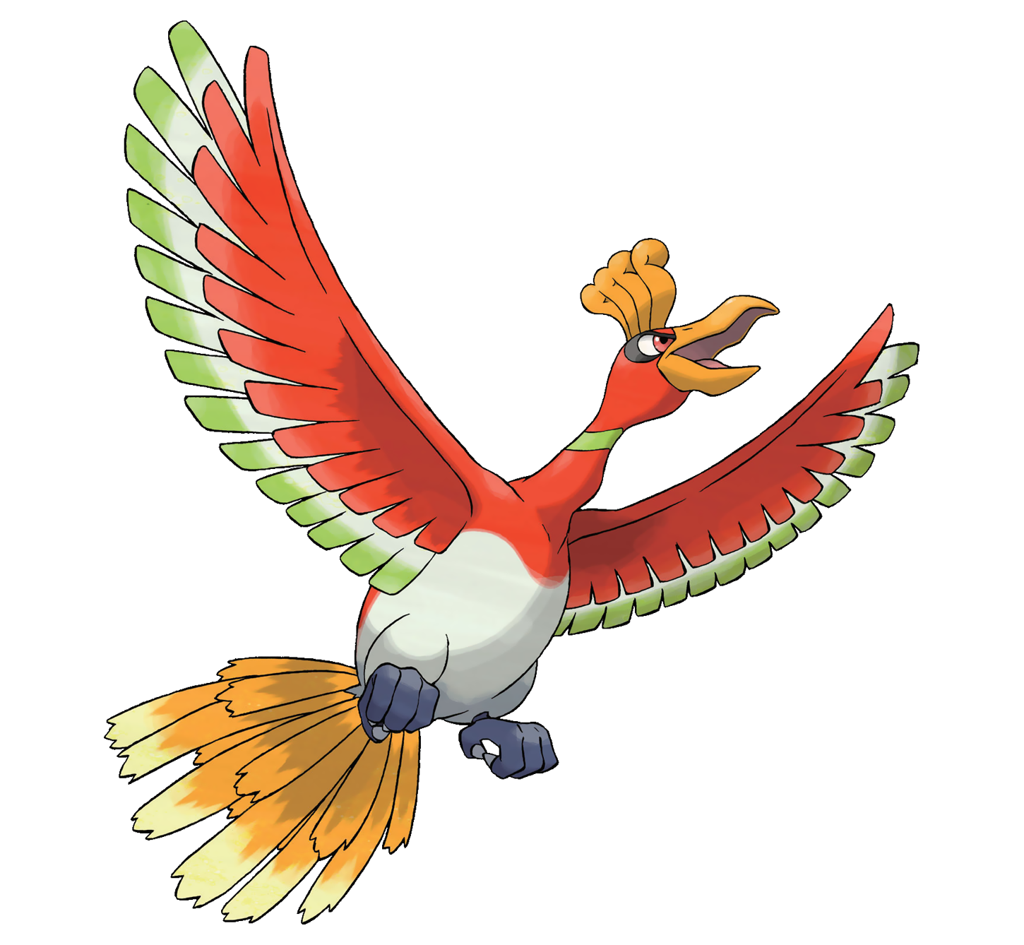 Ho-Oh  WikiDex  Fandom powered by Wikia