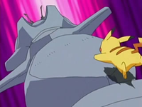 Archivo:EP492 Pikachu trepando para quitar la segunda pala.png