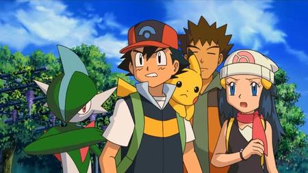 Archivo:P10 Ash, Brock y Maya contemplando a Darkrai.png