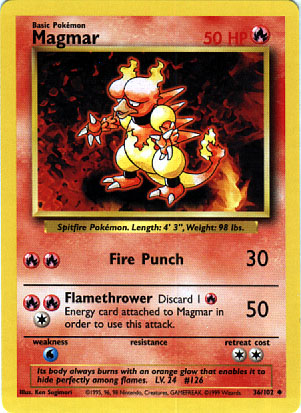 Archivo:Magmar (Base Set TCG).jpg