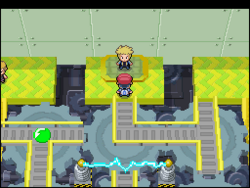 Interior del Gimnasio de Marina en los videojuegos
