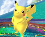 Pikachu de pie SSBB