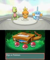Elección de Pokémon inicial ROZA