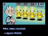 Pikachu rescatados