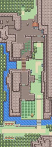 Mapa de la ruta 205
