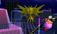 Zapdos en la Torre Prisma SSB4 3DS
