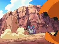 EP541 Trapinch usando tumba rocas (2)