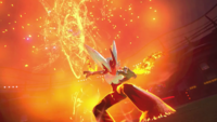 Mega-Blaziken Pokkén Tournament