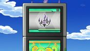 EP710 Chandelure en la Pokédex