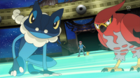 EP896 Frogadier y Talonflame (2)