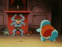 EP063 Machamp vs Squirtle