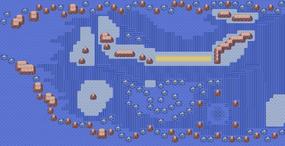 Mapa de la ruta 134
