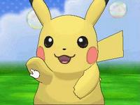 Pikachu chocando los cinco en el Poké Recreo XY.png