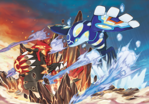 Groudon Primigenio vs Kyogre Primigenio