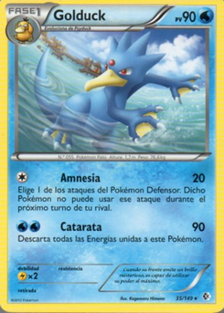 Carta de Golduck