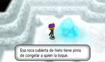 Roca hielo XY
