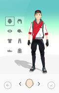 Pokémon GO Personalización del avatar