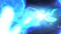 SME03 Mega-Charizard X usando lanzallamas