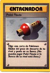 Carta Poké Flauta