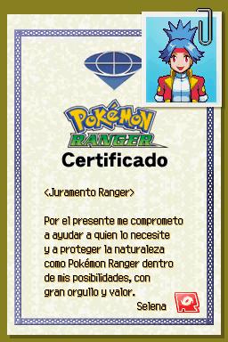 Certificado Ranger de Selena.png