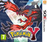 Pokémon Y Carátula