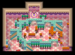 Interior del Gimnasio de Trigal en los videojuegos