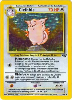 Carta de Clefable