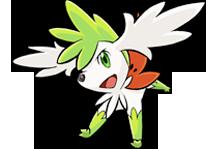 Archivo:Shaymin cielo Pokémon Ranger 3.png