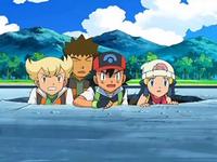 Archivo:EP572 Barry, Brock, Ash y Maya en el agujero.png
