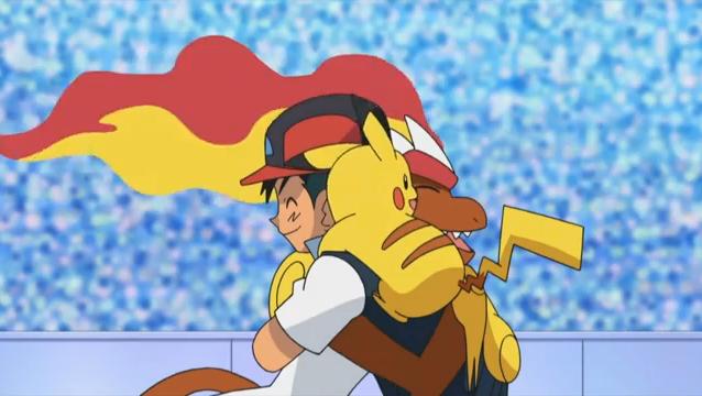 Archivo:EP657 Ash felicitando a Infernape despues de la batalla.png