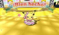 Pikachu superstar ganando un concurso