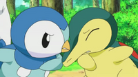 EP613 Piplup vs Cyndaquil