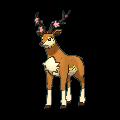 Imagen de Sawsbuck forma primavera en Pokémon X y Pokémon Y