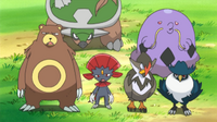 EP657 Staraptor, Swalot y Pokémon de Polo