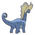Imagen posterior de Aurorus en la sexta generación