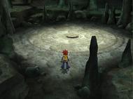 Poké espacio Cueva en Pokémon XD