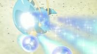 EP826 Clauncher usando rayo burbuja