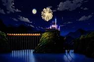 P08 Vista nocturna del palacio Cameran