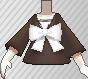 Blusa con lazo marrón.png