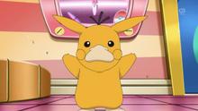 EP885 Pikachu disfrazado de Psyduck.png